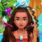 Polynesian Princess Real Haircuts