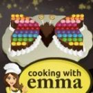 Butterfly Chocolate Cake Cooking with Emma 2