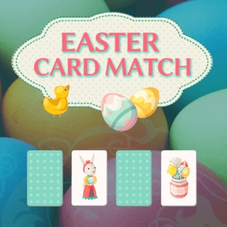 Easter Card Match 2