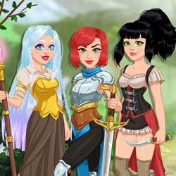 Fantasy RPG Dress Up