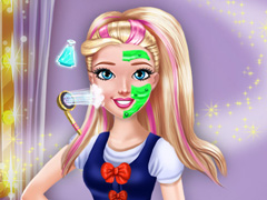 College Princess Spa Makeup H
