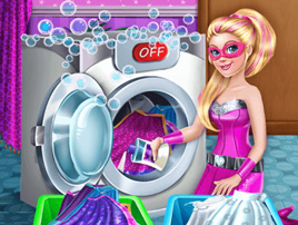 Super doll Washing Capes