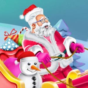 Design Santas Sleigh Game