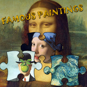 Jigsaw Puzzle Famous Paintings