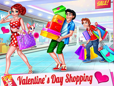 Valentines Day Shopping