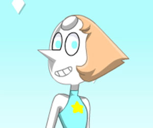 Crystal Gem Pearl Dress Up Game
