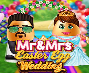Mr Mrs Easter Wedding