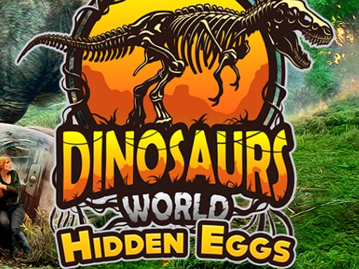 Dinosaurs World Hidden Eggs