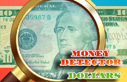 Money Detector Dollars Differences