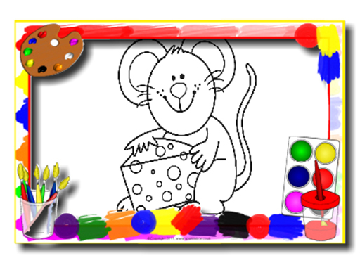 Kids Cartoon Coloring Book