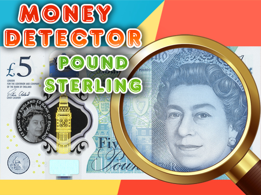 Money Detector Pound Sterling