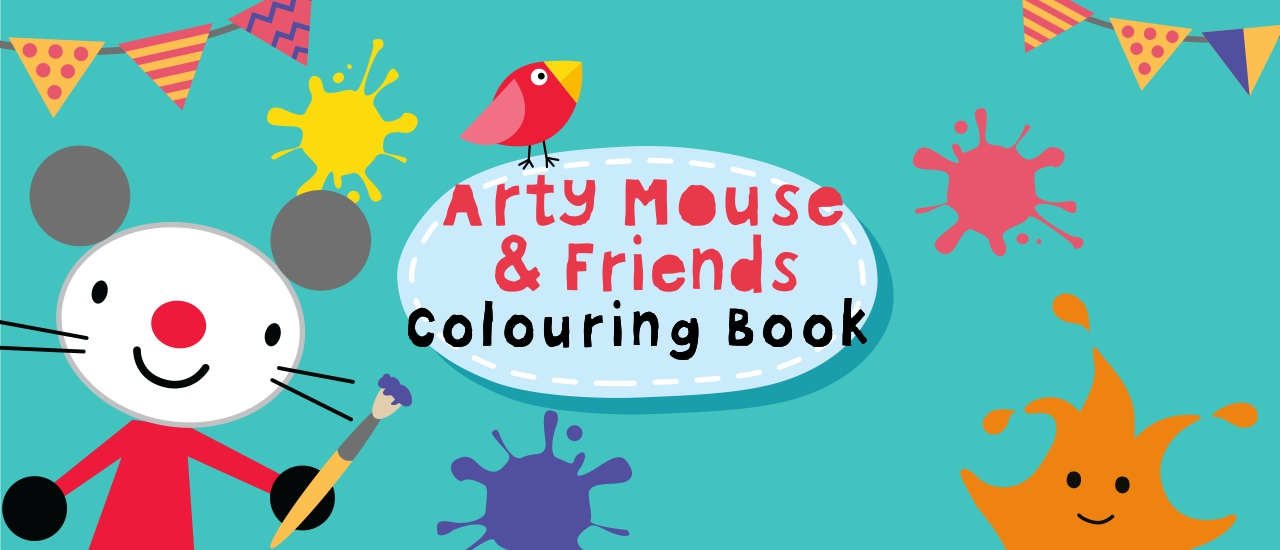 Arty Mouse Coloring Book