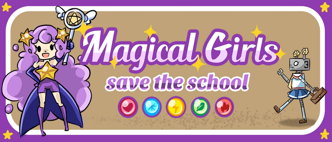 Magical Girl Save The School