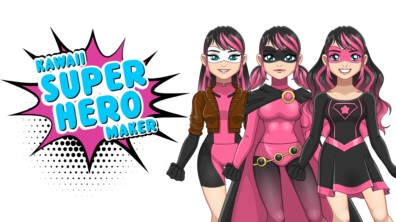 Kawaii Superhero Avatar Maker