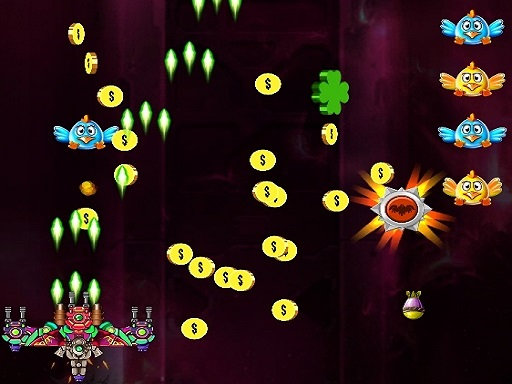 Space Attack Chicken Invaders