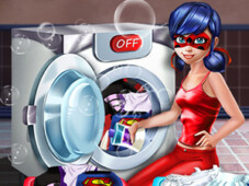 Ladybug washing uniform