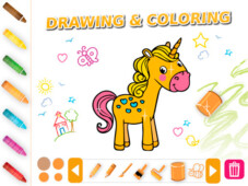DRAWING COLORING ANIMALS