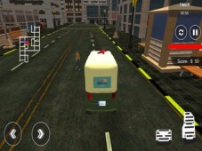 City tuk tuk rickshaw : chingchi simulator game